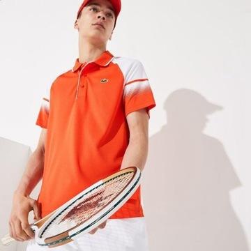 KOSZULKA POLO -LACOSTE SPORT-S -tenis