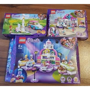 3 Zestawy klocków Lego Friends