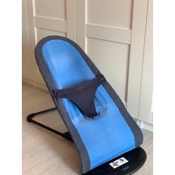 leżaczek Babybjorn Balnace Soft niebieski