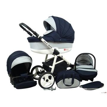 Wózek 3w1 baby lux
