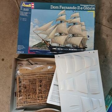 Fregata Dom Fernando II e Gloria  Revell 1/200