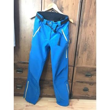 Damskie spodnie softshell Montano r.S stan idealny