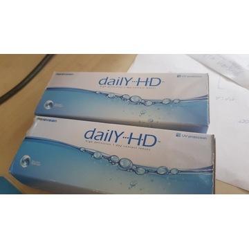Soczewki Daily HD -3.5 Dioptrii