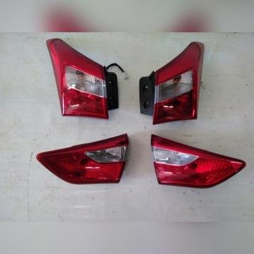Lampy tylne Hyundai i30 II hathback komplet