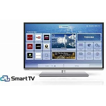 """Led 40"""" 3d Toshiba, Full HD, DVBT-2 ,400Hz, smart"""