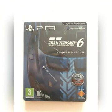 Gran Turismo 6 Anniversary Edition PL Steelbook