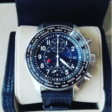 IWC Pilot's Timezoner Nienoszony Gwarancja 2029