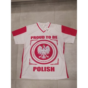 Koszulka POLSKA patriotyczna Zulla rozm. S