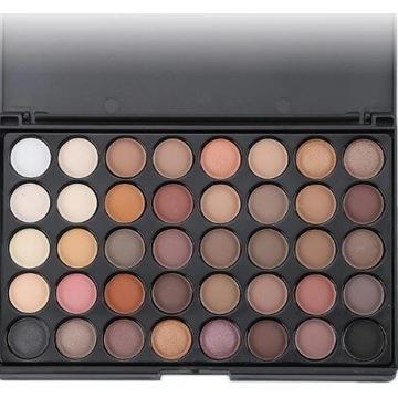 40 kolorów paleta cieni do powiek zestaw do makeup