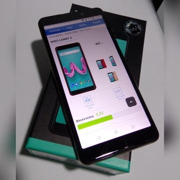 Smartfon Wiko Lenny 5 Złoty - ZESTAW