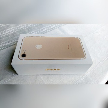 Pudełko po iPhone 7 128GB Gold