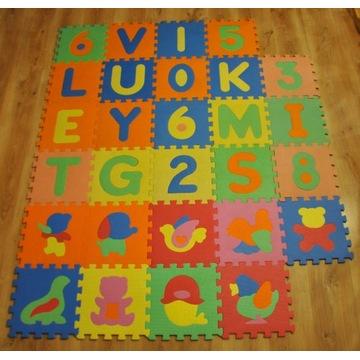 Puzzle piankowe dla dzieci Smiki (Smyk) – 28 sztuk