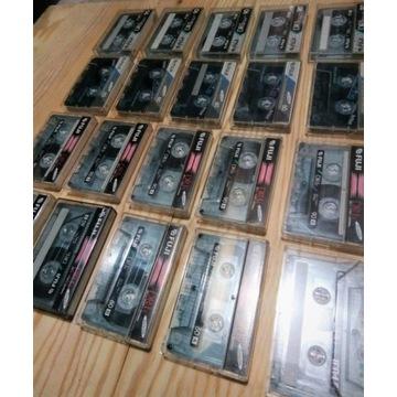 Zestaw 21 kaset magnetofonowych firmy FUJI !!!
