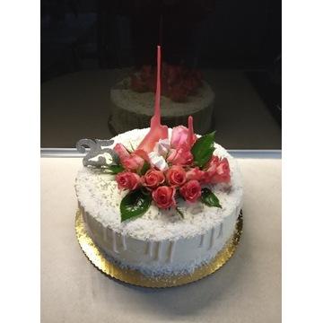 Izomalt splash- efektowna dekoracja na tort
