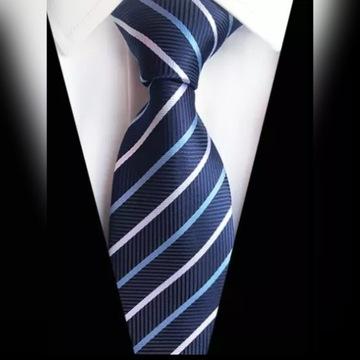 Okazja! Krawat męski materiałowy!