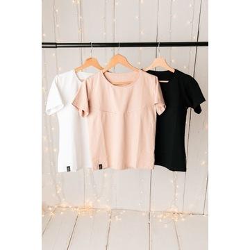 Bluzka BASIC T-shirt do karmienia