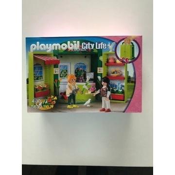Kwiaciarnia Playmobil City Life 5639 - NOWE