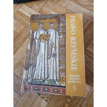 Prawo rzymskie. Słownik encyklopedyczny