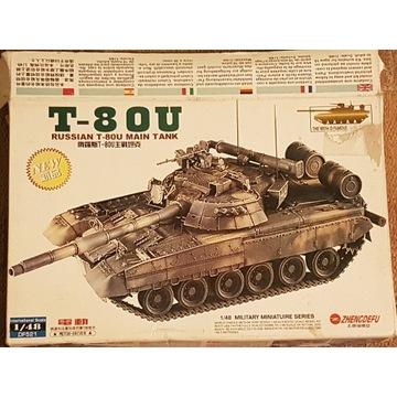 Model czołgu T-80U 1:48