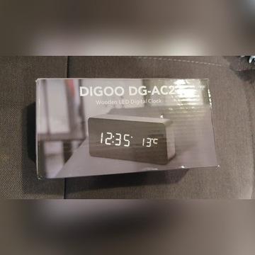 Zegarek cyfrowy budzik Digoo DG-AC2 (czarny)