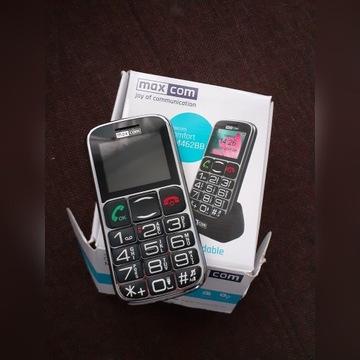 Maxcom telefon dla seniora MM462BB