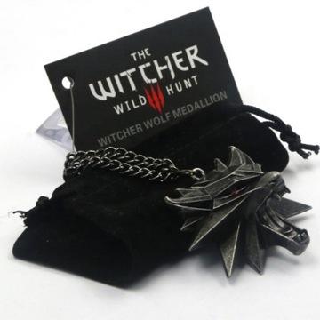 Wiedźmin Naszyjnik Medalion Amulet Witcher