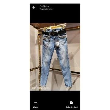 Nowe Spodnie Jeansy Puccihino rozmiar 27
