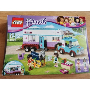 Lego Friends Przyczepa lecznicza dla koni