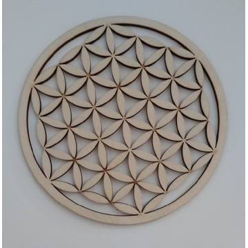 Ażurowa ozdobna kratka wentylacyjna eko 14 cm