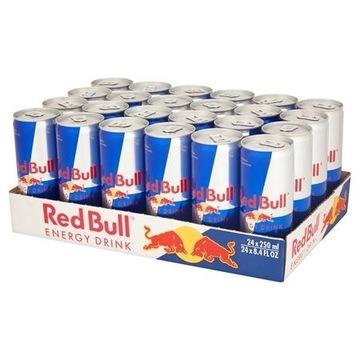 Red bull 250 ml 24 szt !!!