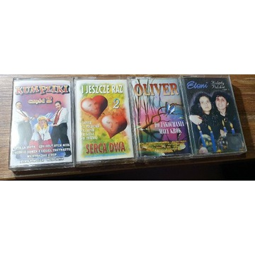 Kasety z muzyką - kasety audio