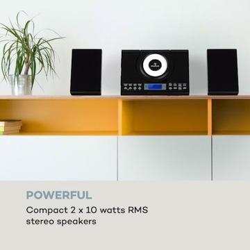 Wallie Mikrowieża odtwarzacz:CD/Bluetooth/USB