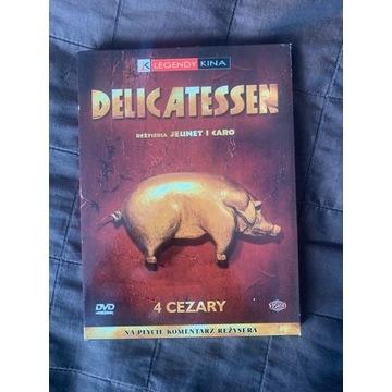 Delicatessen - praktycznie nowe płyta - DVD