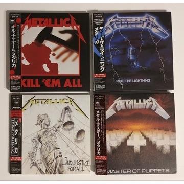 Metallica Kill'em all Ride the JAPAN Mini LP OBI