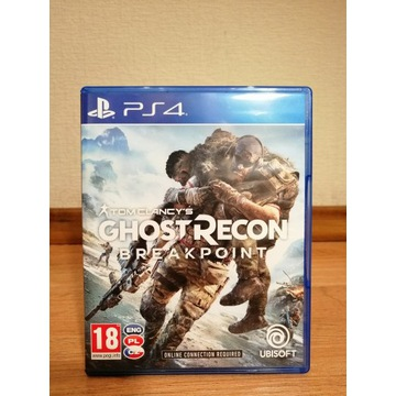 GRA TOM CLANCY'S GHOST RECON BREAKPOINT PS4 PL
