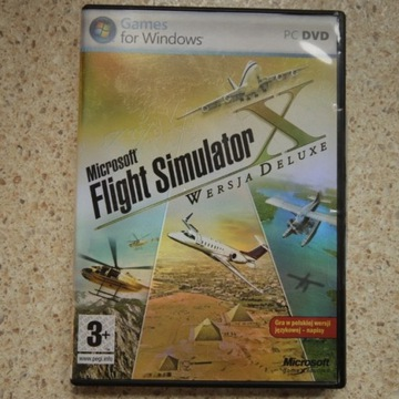 Microsoft Flight Simulator X Wersja Deluxe