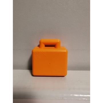 Oryginalny klocek LEGO DUPLO pomarańczowa walizka