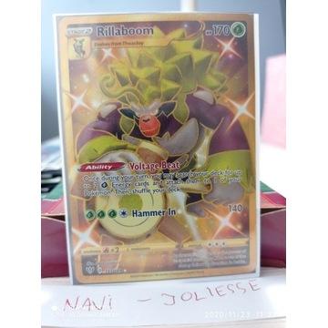 Pokemon Rillaboom Gold Full Art 197/189 M/NM DA