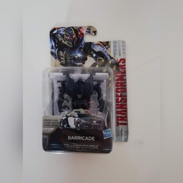TRANSFORMERS BARRICADE MV5 Ostatni Rycerz. Hasbro
