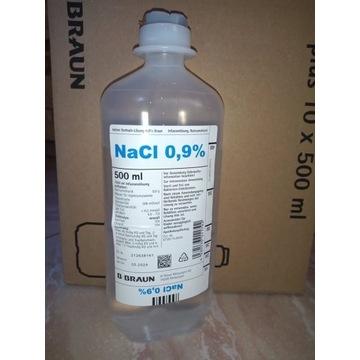 NaCl 0,9%Natrium Chloratum do iniekcji 500ml
