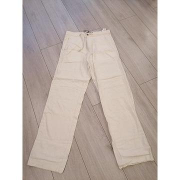 Męskie lekkie spodnie, nowe z metkami rozmiar L