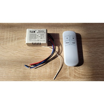 Wyłącznik bezprzewodowy radiowy na pilota 433 MHz