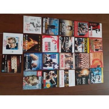 22 płyty dvd z filmami
