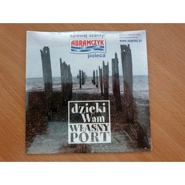 SZANTY CD: dzięki Wam, WŁASNY PORT