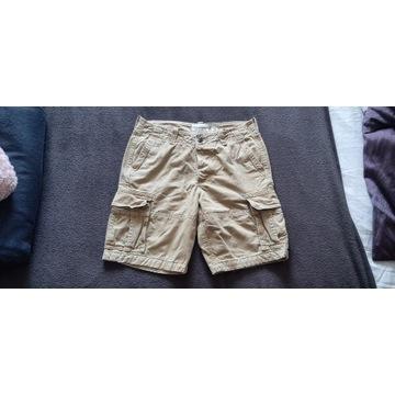 Spodenki jeansowe Abercrombie & Fitch