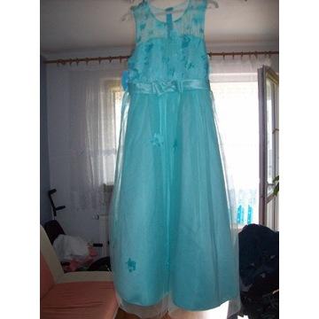 Długa suknia roz M