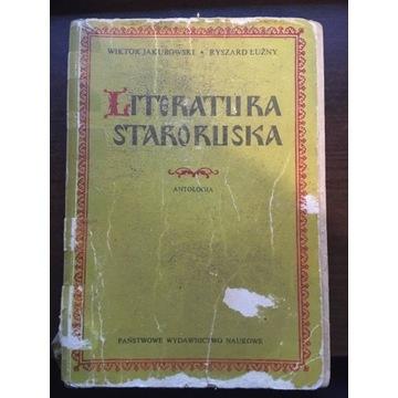 Literatura staroruska