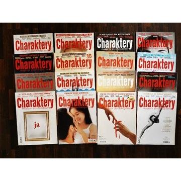Magazyn Charaktery nr archiwalne 09.2011-12.2012
