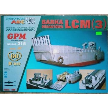 Barka Desantowa LCM GPM 215