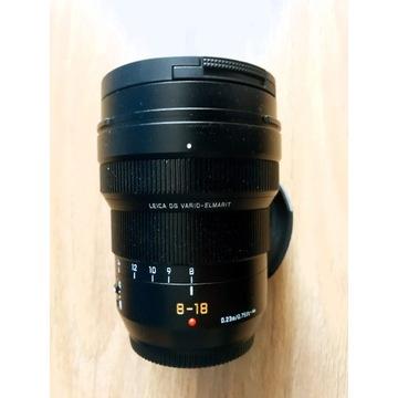Obiektyw Panasonic Leica DG 8-18 2.8-4.0 m43/mft